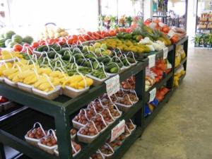 Produce at Durbin Farms